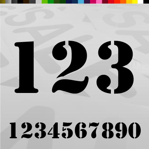 Magnifiek Losse Plakcijfers bestellen | Stickers en Plakletters OP88